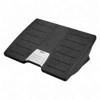Fellowes Premium Ergonomic Foot Rest  Office Suites - Silver  Black