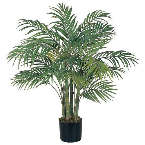 Nearly Natural 5000 Areca Silk Palm Tree 3 Feet