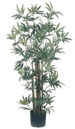 Nearly Natural 5040 Bamboo Silk Plant 4 Feet