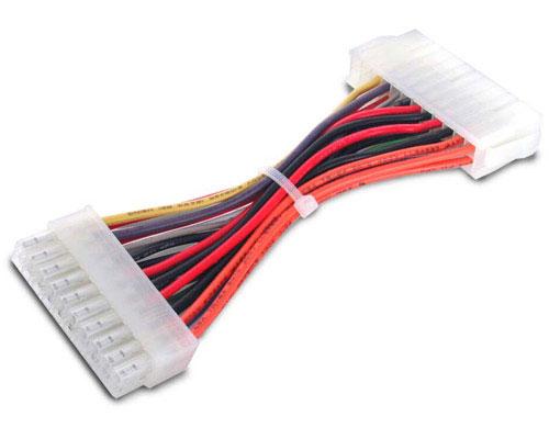 6 inch 20 to 24 Pin F/M ATX Power Supply