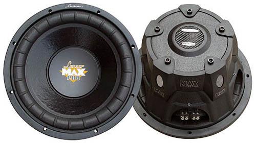 SOUND AROUND/LANZAR AUDIO MAXP154D 15   2000 Watt Dual Voice Coil Subwoofer Driver for Small Enclosures