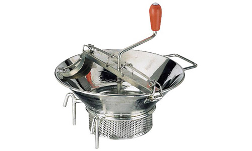 Paderno World Cuisine 42575-37 Food Mill  Tin  #5  with 3 mm Sieve