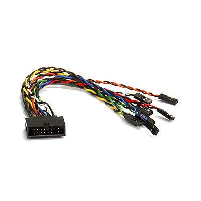 Supermicro CBL-0084L 6  16-pin Front Ctrl Split
