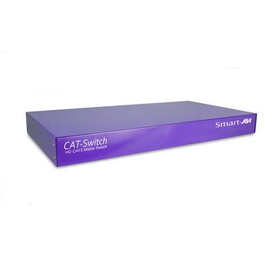 Smart AVI CSW08X08S 8 X 8 Cat5 A/V Matrix Switch