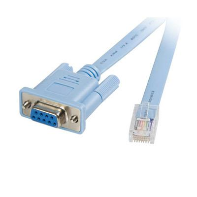 Startech DB9CONCABL6 6  RJ45 to DB9 Router Cable