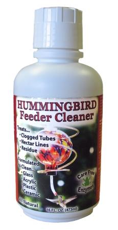 Care Free Enzymes CF98556 Hummingbird Feeder Cleaner-Feeder Wash 16 oz