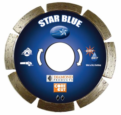 Diamond Products 74950 Core Cut 4   x .070 x .87   Star Blue