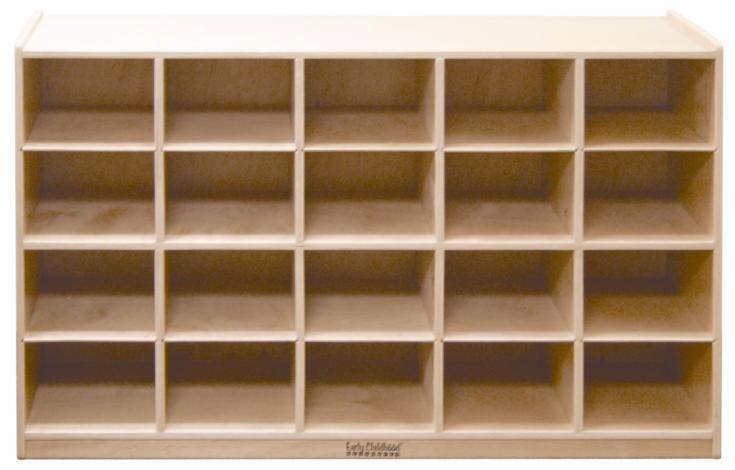 Early Childhood Resources ELR-0426 20 Tray Cabinet