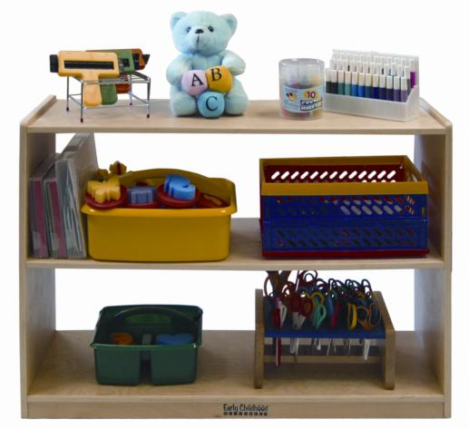 Early Childhood Resources ELR-0451 Deep Shelf Module With out Back