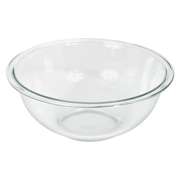 Pyrex 6001033 CLR 2.5 Quart Mixing Bowl - Case of 4