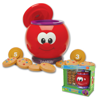 Learning Journey 524800 Count and Learn Cookie Jar