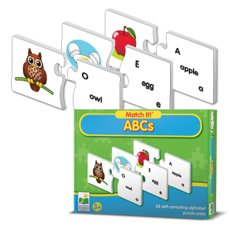 Learning Journey 743874 Match It ABC
