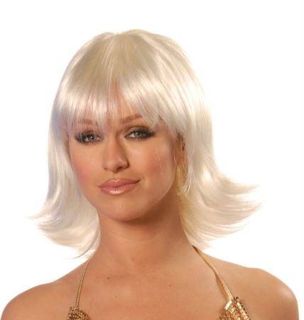 Wicked Wigs Bliss Platinum Blonde Wig