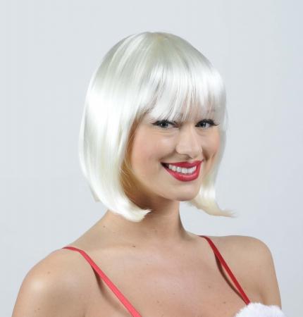 Wicked Wigs Charm Platinum Blonde Wig