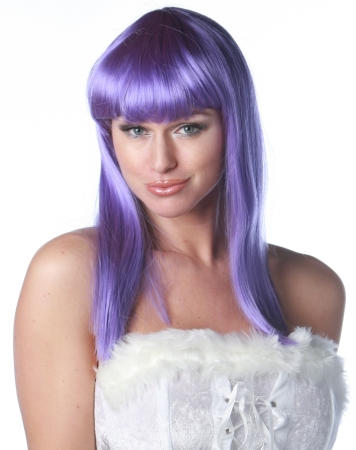 Wicked Wigs 812223011301 Eden Purple Wig