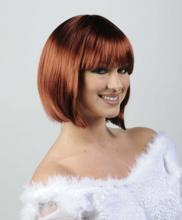 Wicked Wigs 812223010717 Women Charm Sangria - Red Wig