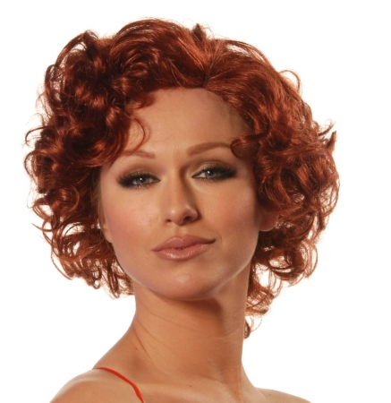 Wicked Wigs 812223011042 Women Starlet Sangria - Red Wig