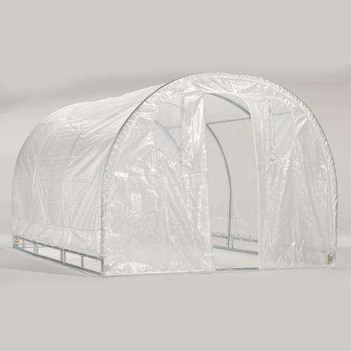 "Weatherguard 6'6""Hx8'Wx12'L round top greenhouse-IS 63012"
