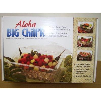 Ke-Anu 20 20 Aloha Big Chill R Clear Serving Dish - Acrylic