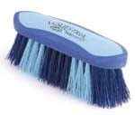8 Inch Large Equestrian Sport Dandy Brush - Blue  - 2174-3