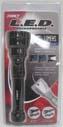 6 Watt Led Rechargable Flashlight 220L - Black  - 41-4299