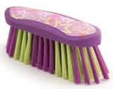 7 Inch Luckystar Body Brush - Purple  - 2375-2