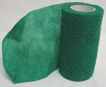 4 in. x 5 yard Wrap-It-Up Flex Bandage - Green  - 40713403