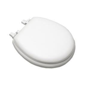 Centoco HPS20-001 White Soft Vinyl Toilet Seat