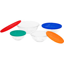 Pyrex 1086053 Smart Essentials 8-Pc Bowl Set