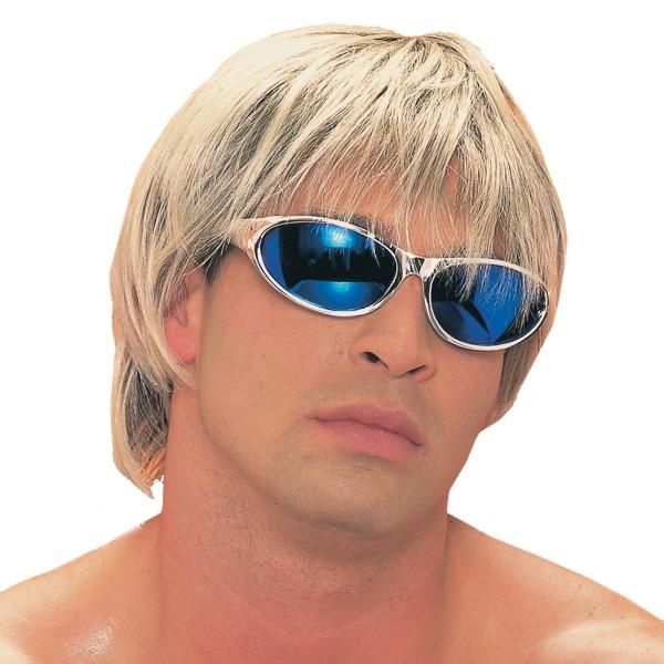 Wicked Wigs 812223011585 Men Surfer - Blonde Wig
