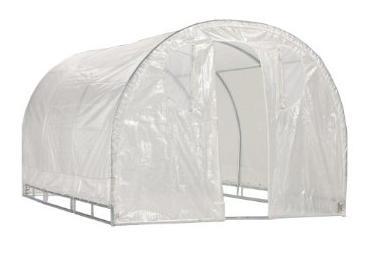 "Weatherguard 6'6""Hx8'Wx8'L round top greenhouse-IS 63001"