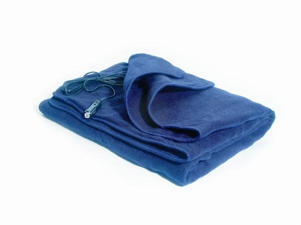 MAXSA Innovations 20013 Comfy Cruise 12 Volt Heated Travel Blanket