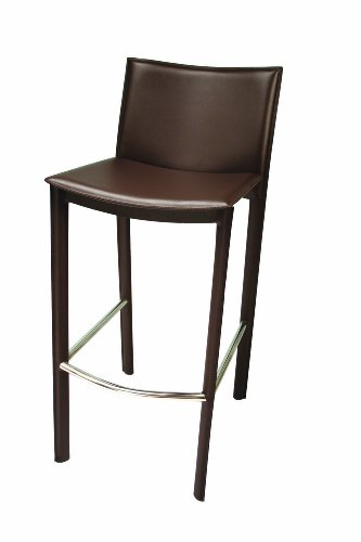 Tag Furnishing 290026 Elston Barstool in Dark Brown