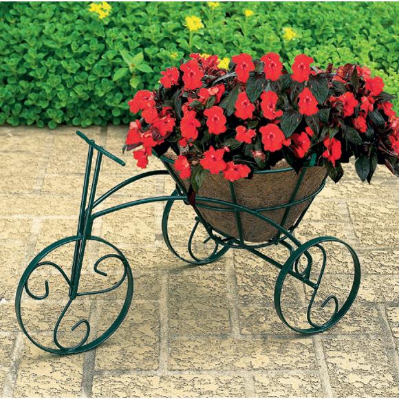 Woodstream Coropration TRCFP-B Tricycle Flower Planter
