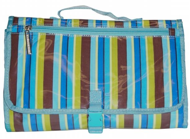 Kalencom 88161132556 Blue Monkey Stripes Quick Change Kit