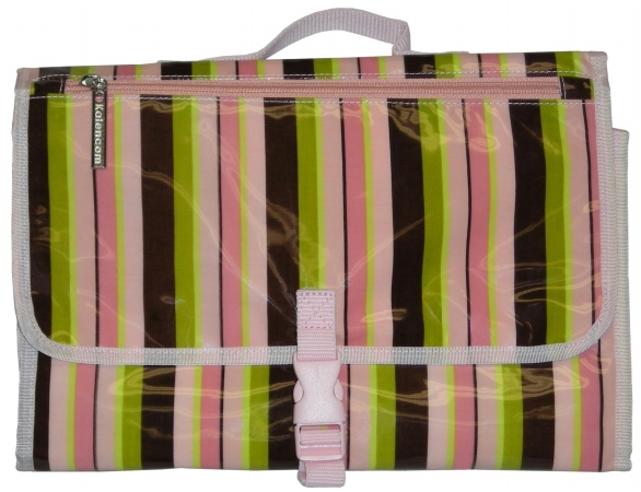 Kalencom 88161132549 Pink Monkey Stripes Quick Change Kit