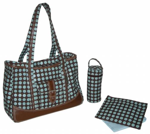 Kalencom 88161223292 Chocolate Heavenly Dots Week Ender Bag