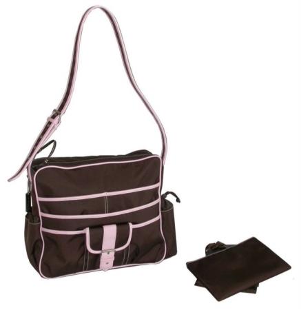 Kalencom 88161222448  Chocolate-Pink Multitasking Bag