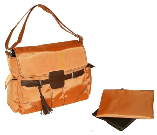 Kalencom 0-88161-22330-8  Orange Kelly Messenger Bag