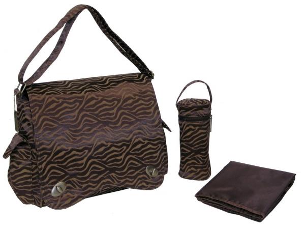 Kalencom 0-88161-22334-6 Safari Fantasy Scallop Messenger Bag