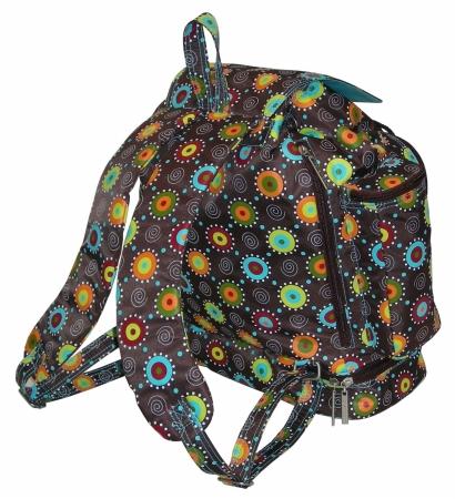 Kalencom 88161132655 Chocolate Doodle Bugs Backpack