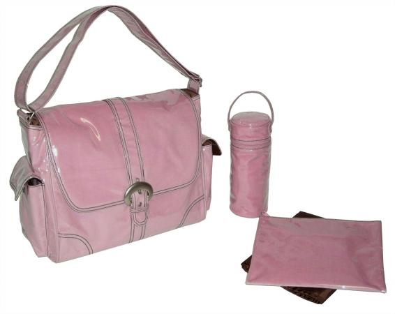 Kalencom 88161223124 Watermelon Corduroy Laminated Buckle Bag