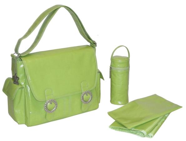Kalencom 0-88161-22616-3 Corduroy Apple Coated Double Buckle Bag