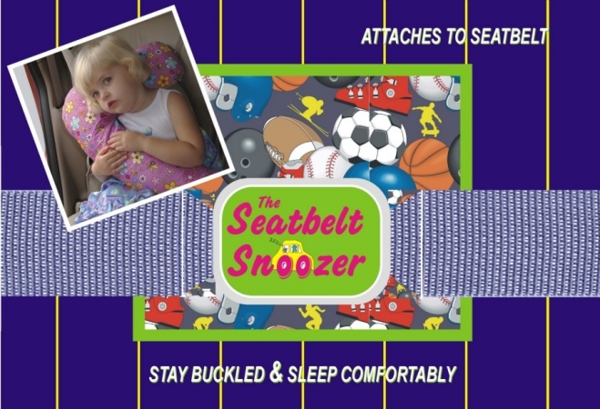 Kalencom 1731spr Sports Seat Belt Snoozer