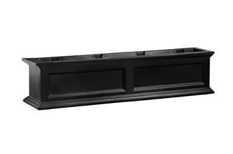 MAYNE 5823B Fairfield 4ft Window Box- Black