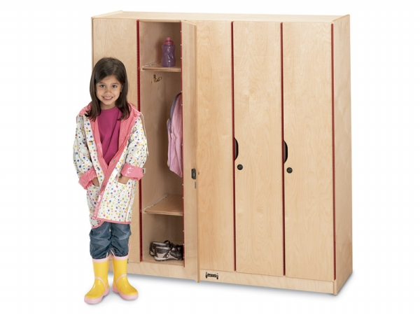 Jonti-Craft 2621JC Jonti-Craft Lockers With Doors- 5 Sections