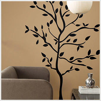 Roommates RMK1317GM Tree Branches Peel & Stick Appliques