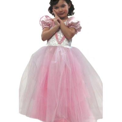 Schylling SCH-10480 Small Miracles Classic Princess Gown Costume