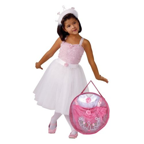 Schylling SCH-15010 Small Miracles Ballerina Costume and Tote Set