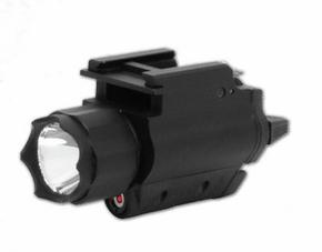 NCStar AQPFLS Red Laser Sight/3W Light Combo